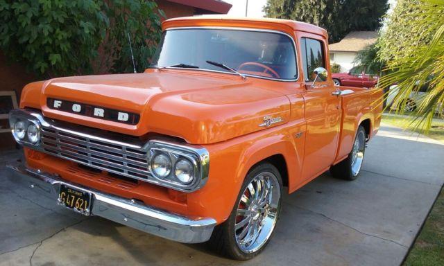 1959 ford f150 shortbed truck v8 351 engine for Motor ford f150 v8