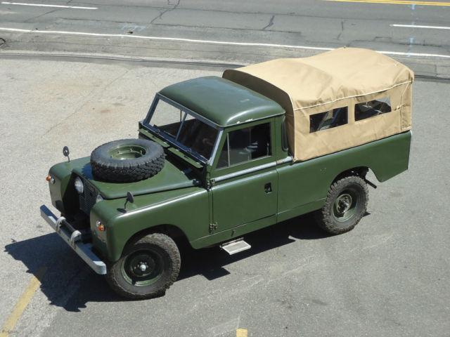 1959 land rover series 2 pickup model 109 defender classic celebrity owned. Black Bedroom Furniture Sets. Home Design Ideas