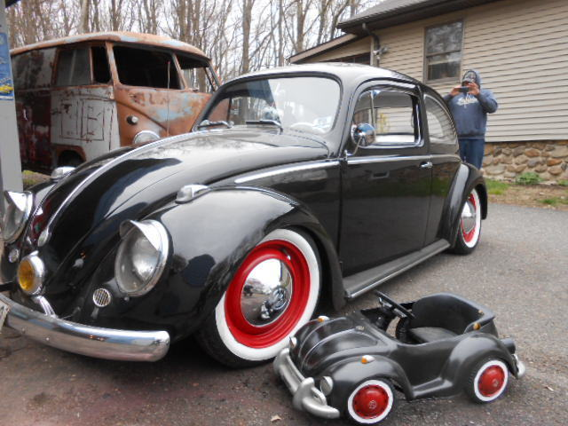 Punch Buggy Volkswagen >> 1959 Volkswagen Beetle Sedan, VW Bug, Punch Buggy Black