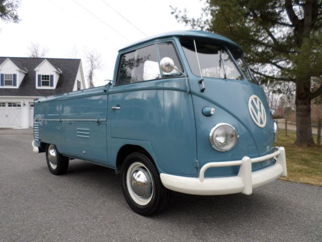 1959 vw single cab pick up truck. Black Bedroom Furniture Sets. Home Design Ideas