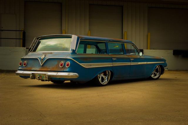 1960 Bel Air Impala Biscayne Parkwood 1958 1959 1961 Patina Air Ride Chevrolet