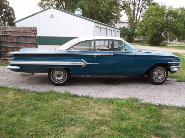 1960 chevrolet impala 2 door hrtp project ie 1955 bel air