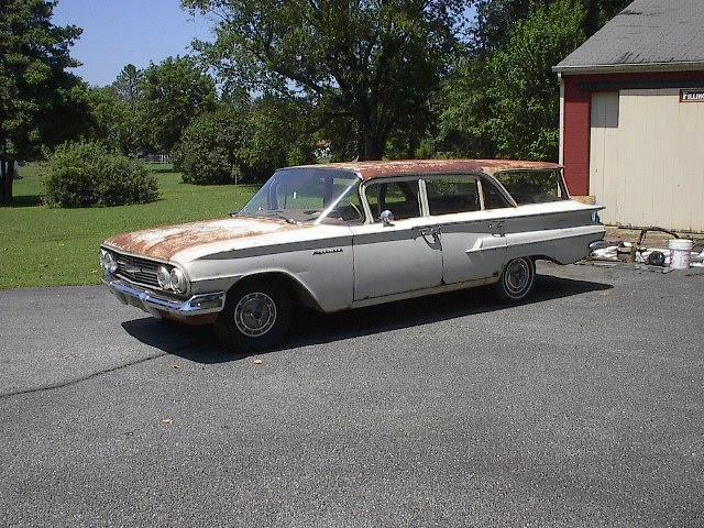 1960 chevrolet parkwood 6 pass station wagon chevy impala. Black Bedroom Furniture Sets. Home Design Ideas