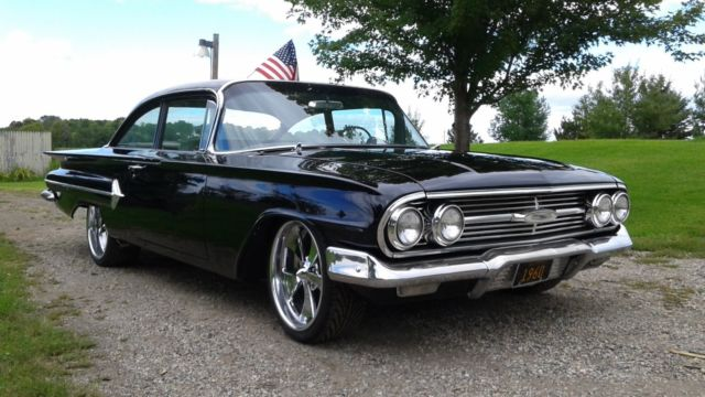 1960 Chevy Bel Air With New 327 Corvette Engine And Air Ride