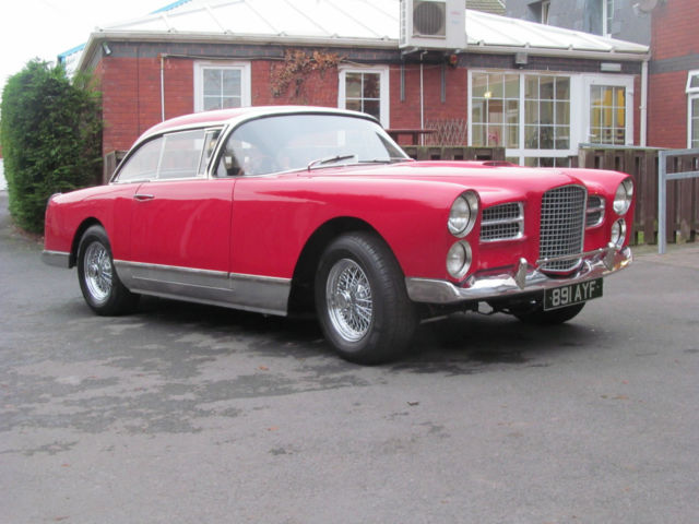 1960 facel vega hk500 rhd fully restored. Black Bedroom Furniture Sets. Home Design Ideas