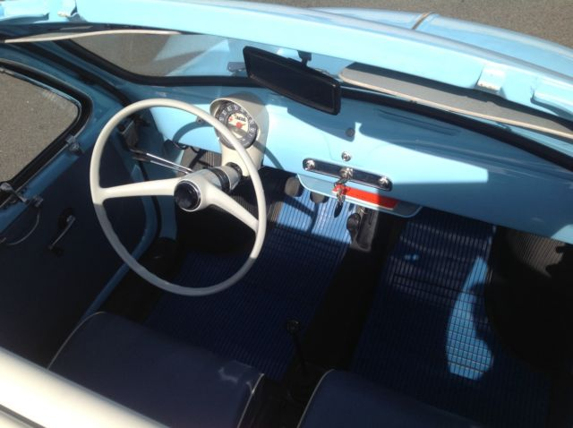 Fiat Of Palm Springs >> 1960 Fiat 500D - RAREST Model - 3 Owners from New- Restored, Vintage, Classic