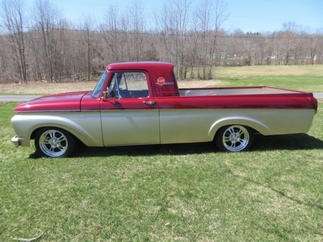 1961 Ford F 100 Unibody Pick Up