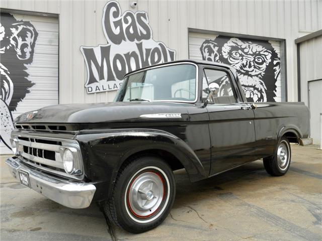 1961 ford f 100 unibody swb original v8 4 spd by gas for Garage ford saumur