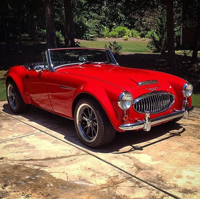 1962 Austin Healey 3000 Sebring MX Roadster