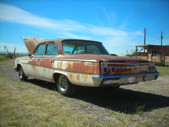 1962 Chevrolet Bel Air Base Sedan 4 Door 4 6l