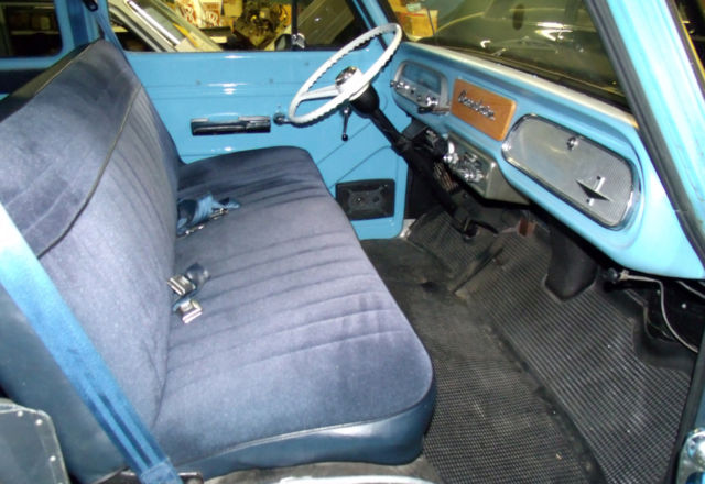 1962 Chevy Corvair Greenbrier Sportwagon