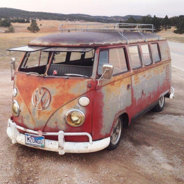 1962 Volkswagen Bus Kombi Patina Vw Quot Van Quot