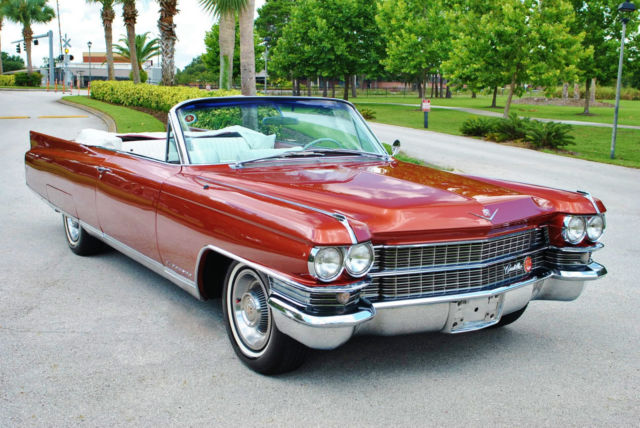 1963 Cadillac Eldorado Convertible Air Conditioning Leather Bucket on Cadillac Engine Scheme
