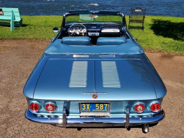 1963 Chevrolet Corvair Monza Spyder 900 6cyl Supercharged ...