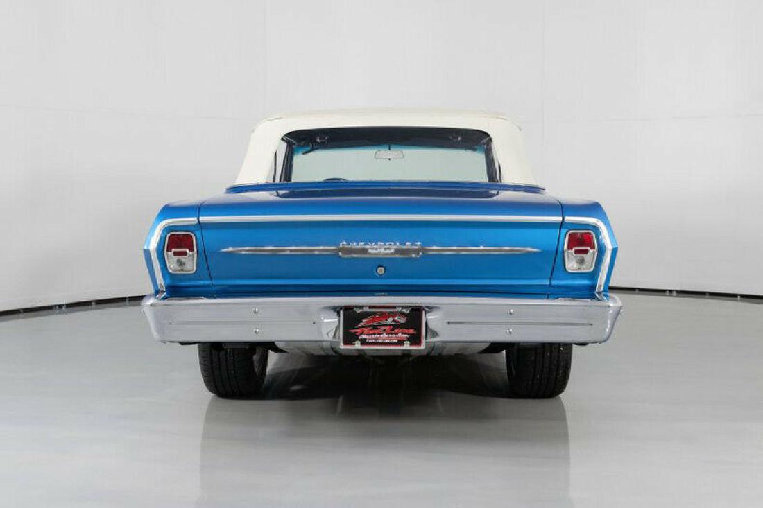 1963 Mustang Blue