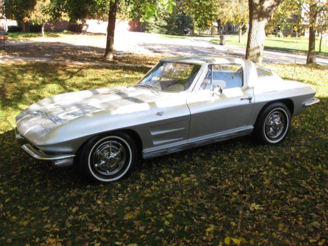 1963 corvette split window 340 hp for 1963 corvette split window model car