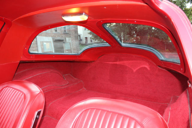 1963 Corvette Split Window Coupe Red With Red Interior