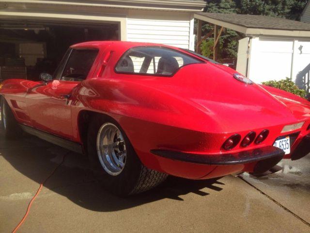 Pro Stock Corvette : Corvette split window pro street