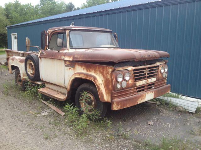 1963 Dodge Pickup Rat Rod Project Truck