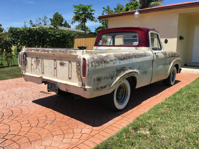 1963 ford f 100 unibody patina truck rat rod custom. Black Bedroom Furniture Sets. Home Design Ideas