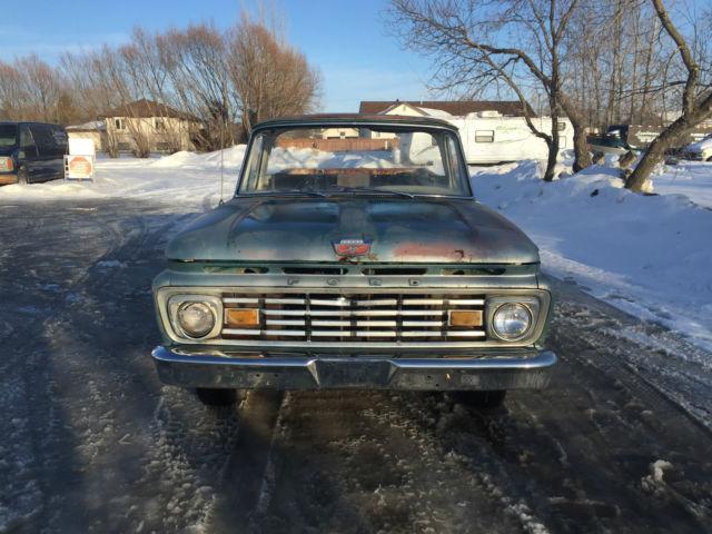1963 Ford F100 Rare Unibody Big Back Window Custom Cab 1/2 ton Pickup Truck