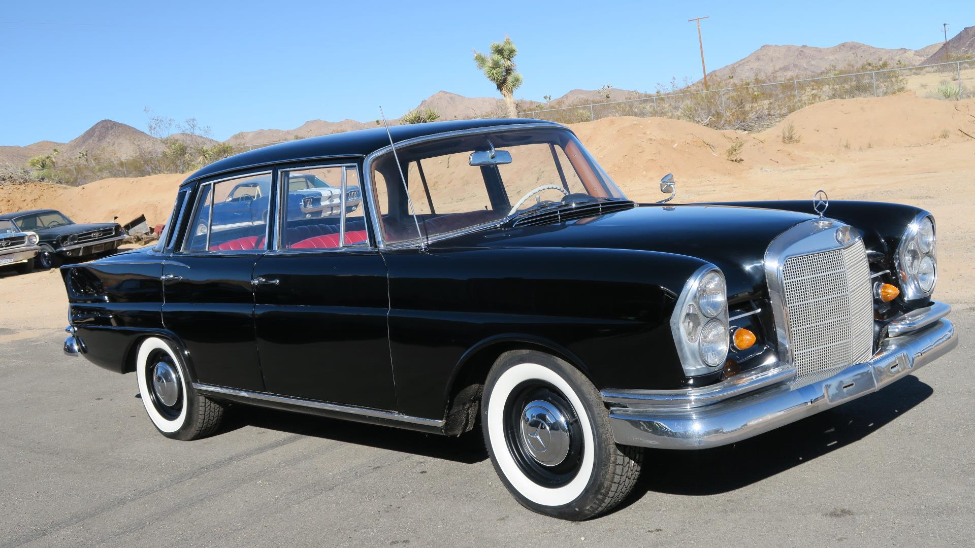 1963 mercedes benz 220s 64k original miles rare for Mercedes benz socal