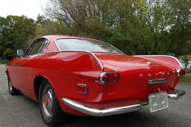 1963 volvo p1800 red very nice condition just serviced. Black Bedroom Furniture Sets. Home Design Ideas
