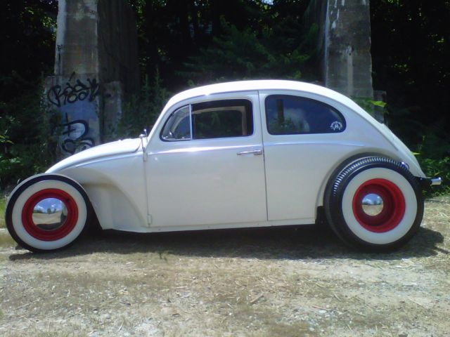 1963 Vw Beetle Bug Rat Rod Street Rod Hot Rod Volksrod