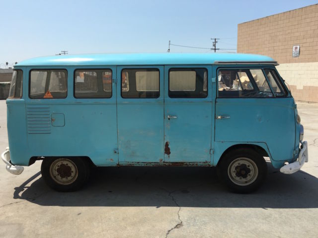 1963 vw bus 15 windows for sale in los angeles ca. Black Bedroom Furniture Sets. Home Design Ideas