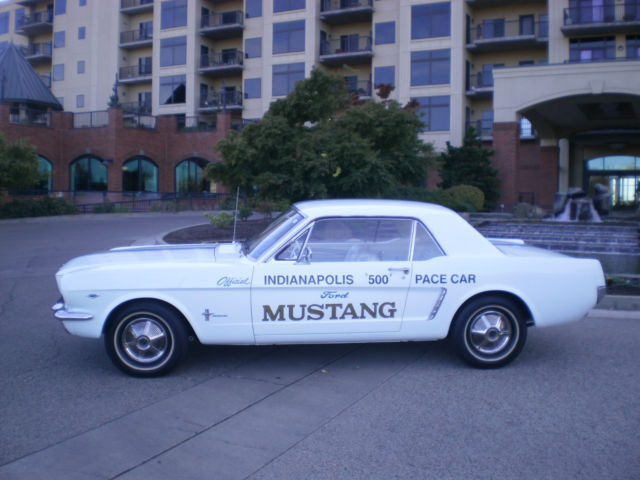 Car Dealerships Medford Oregon >> 1964 1/2 Ford Mustang Pace Car Replica Coupe (REAL) 260 V8 1965 Clean & Original
