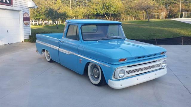 1964 C10 Bagged Airride Custom Pick Up Truck Chevy Patina
