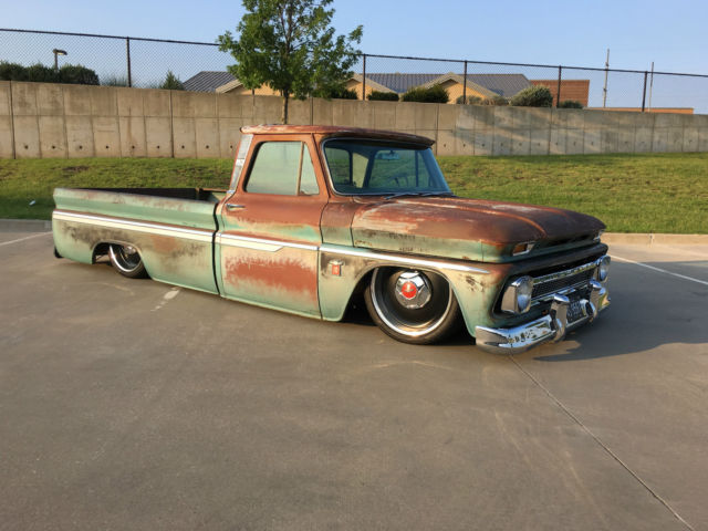 1964 chevrolet c10  patina truck  5 3 ls engine  clean