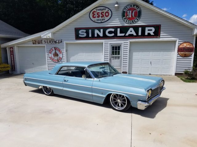 1964 Chevrolet Impala Bagged Air Ride 18 20 Inch Wheels