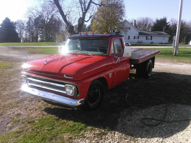 Chevy 6.2 Diesel Truck For Sale >> 1964 Chevy Dually 6.2 Diesel Repower Swap Dump Flatbed Box Patina Shop Truck c30