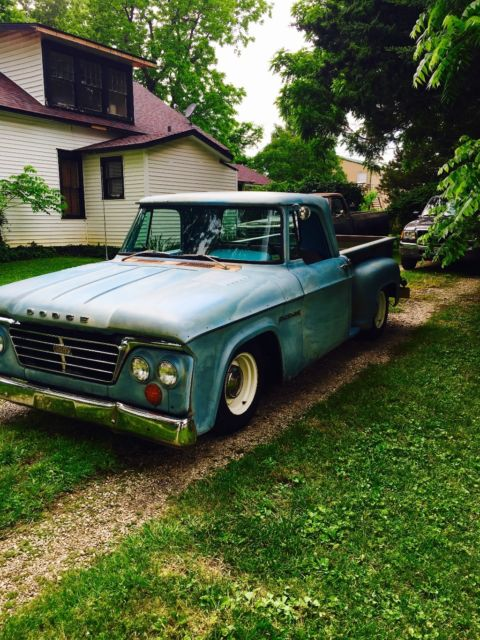 1964 Dodge D100 Short Bed Step Side
