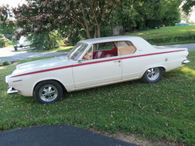 1964 Dodge Dart Gt V8 273 Garage Find Hot Rod Mopar