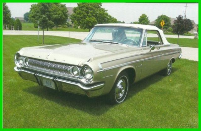 1964 Dodge Polara Automatic Convertible For Sale In