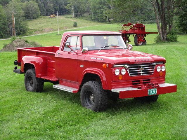 1964 dodge w300 power wagon truck 4 x 4. Black Bedroom Furniture Sets. Home Design Ideas