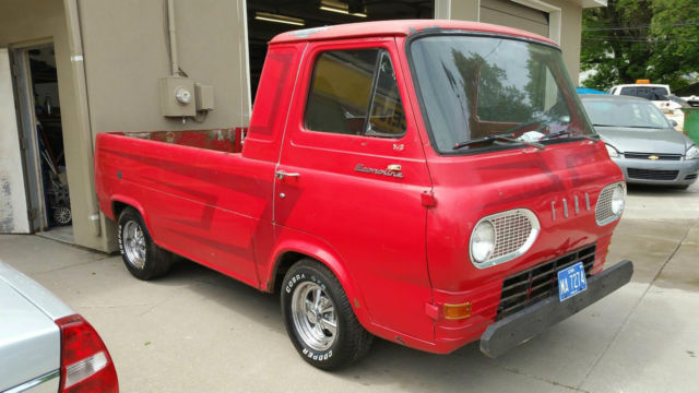 Used Tires Des Moines >> 1964 Ford Econoline Pickup Truck No Reserve! Project!