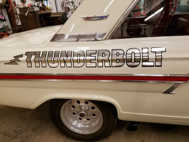 1964 ford fairlane thunderbolt 427 side oiler 4 speed for Thunderbolt motors and transmissions