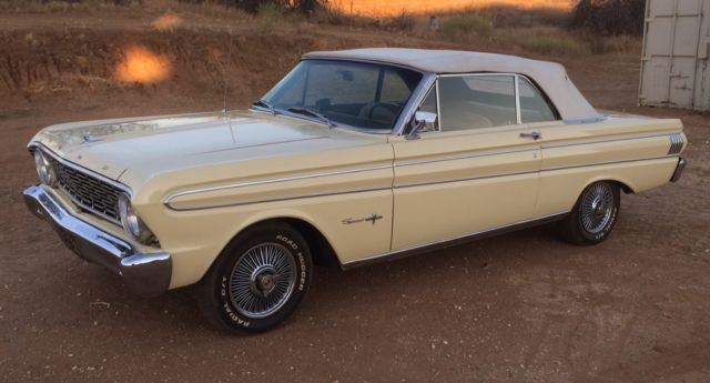 59456 1964 Ford Falcon Sprint Convertible Factory 4 Speed V8 on 1964 ford falcon sprint convertible parts
