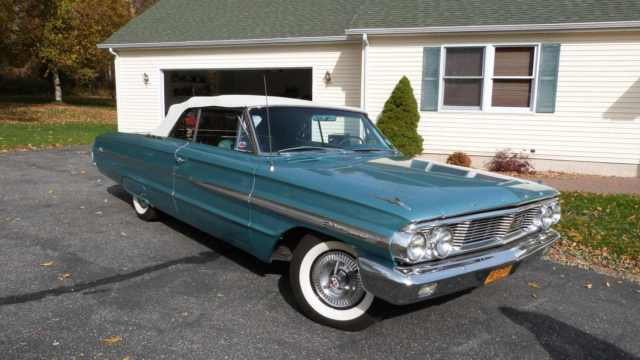 1964 Ford Galaxie 500xl Convertible Excellent Condition Driver