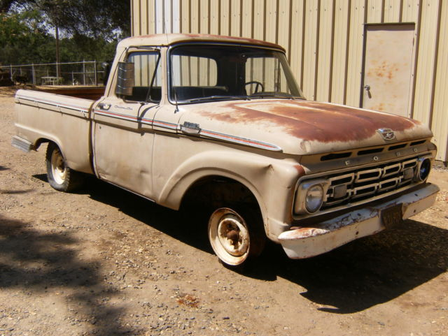 1964 ford pickup shortbed v8 eng restore project parts rat rod. Cars Review. Best American Auto & Cars Review