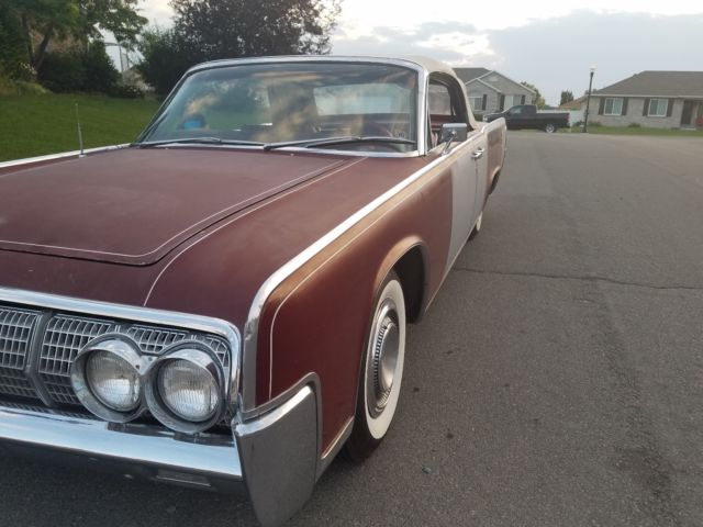 1964 lincoln continental convertible custom rat rod or hot rod barn no reserve. Black Bedroom Furniture Sets. Home Design Ideas