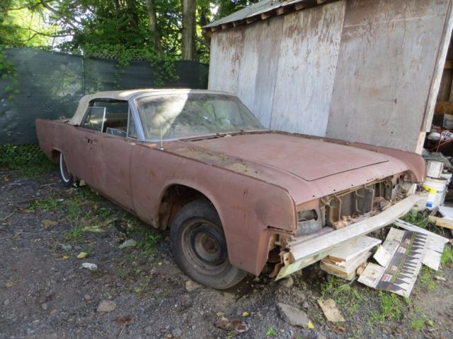 1964 lincoln continental convertible package 2 cars parts. Black Bedroom Furniture Sets. Home Design Ideas