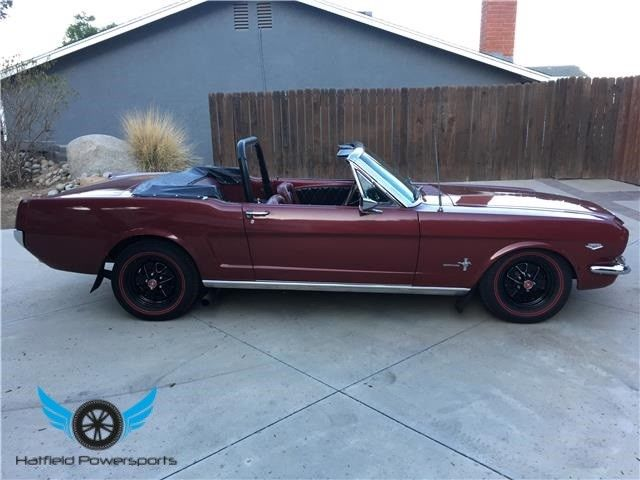 1964 5 1964 1 2 ford mustang 1965 k code convertible hipo rare holy grail car. Black Bedroom Furniture Sets. Home Design Ideas