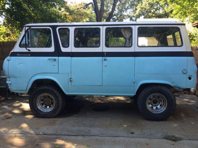 1965 8 Door 4x4 Ford Van