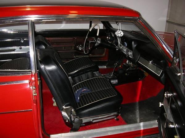 1965 Amc Rambler Marlin 2dr Fastback Very Rear V8