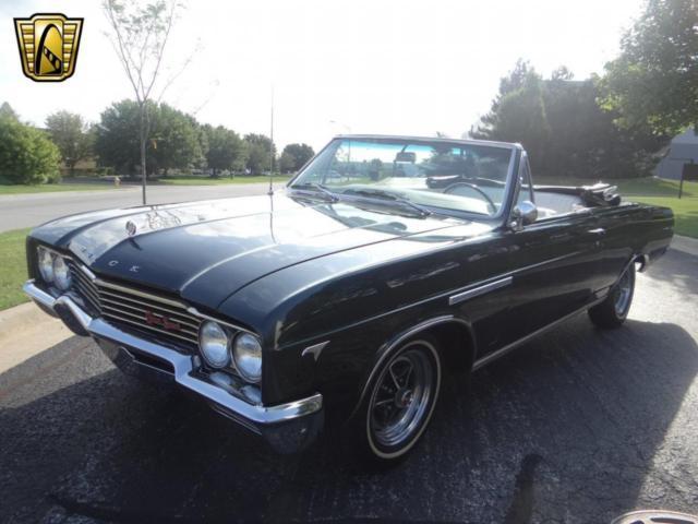 1965 buick gran sport 91206 miles verde green convertible 401 cid v8 automatic. Black Bedroom Furniture Sets. Home Design Ideas