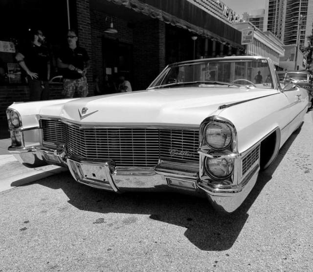 1965 Cadillac DeVille Convertible Air Ride Bagged Lowrider